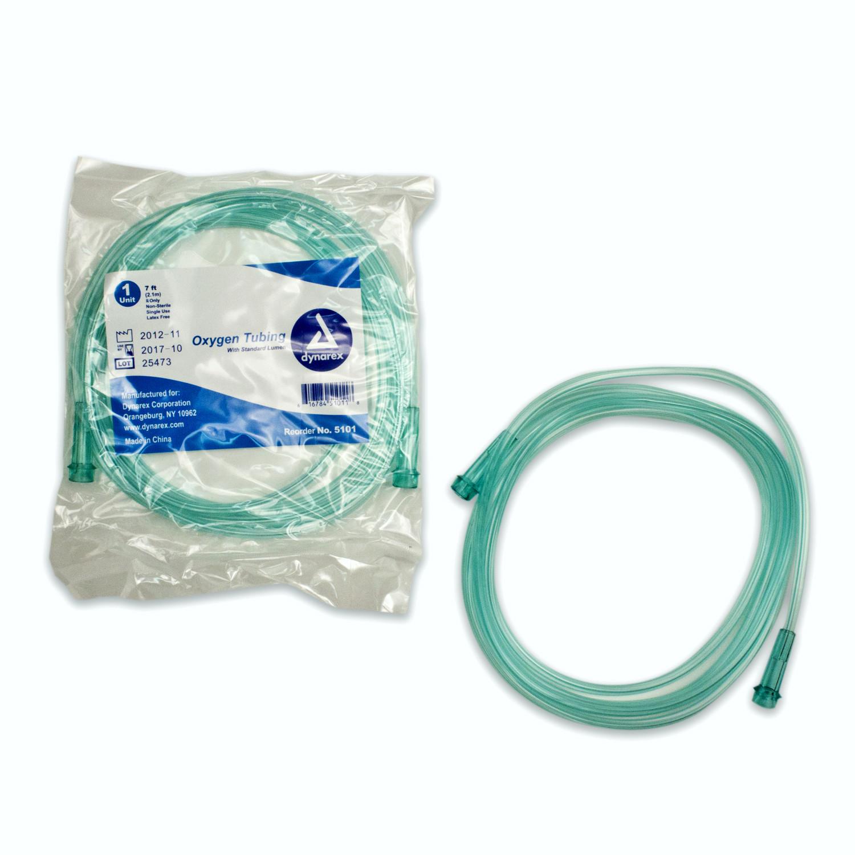 dynarex-Oxygen Tubing Standard -7 ft - Medical Supplies| Medical ...