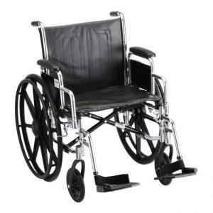 Heavy Duty Steel Wheelchair