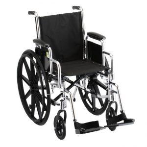 Detachable Arms Wheelchair